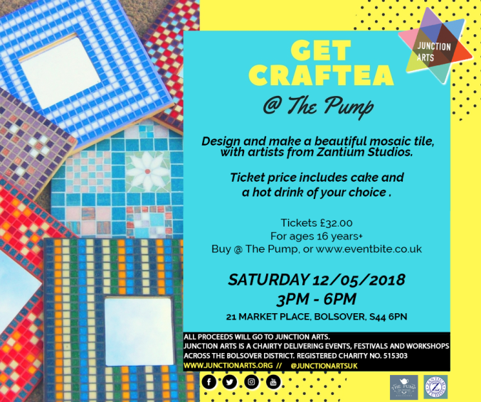 Junction Arts Craftea Mosaic Event