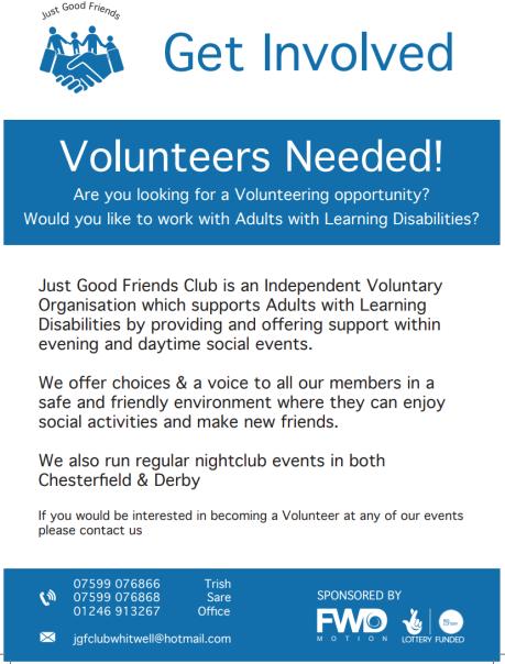 Volunteer Poster - Email Facebook