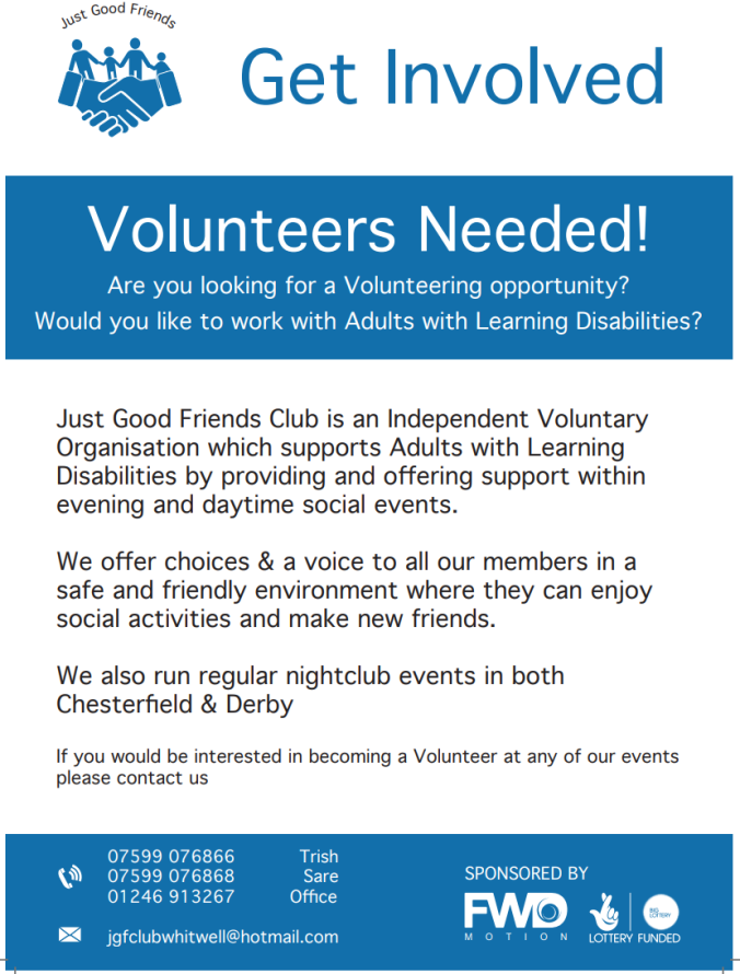 Volunteer Poster - Email Facebook