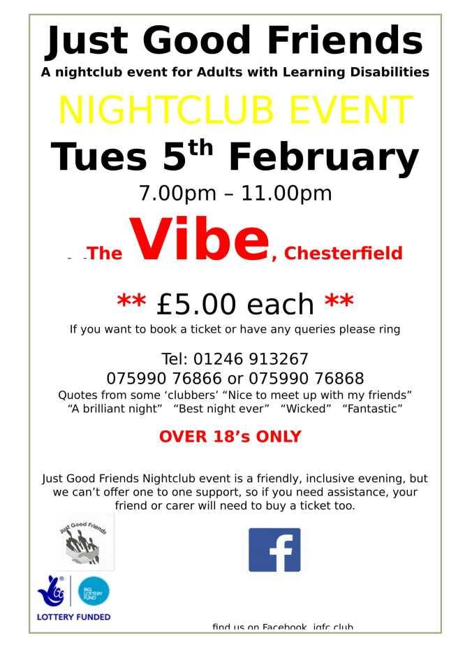 chesterfield nightclub poster-1