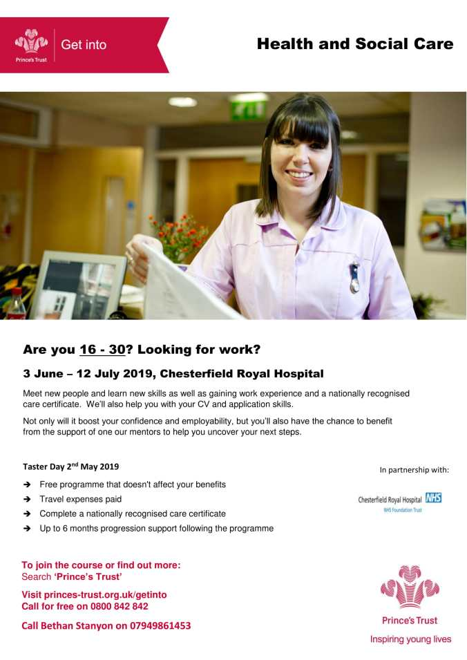 Get Into Heath & Social Care CRH Jun19-1