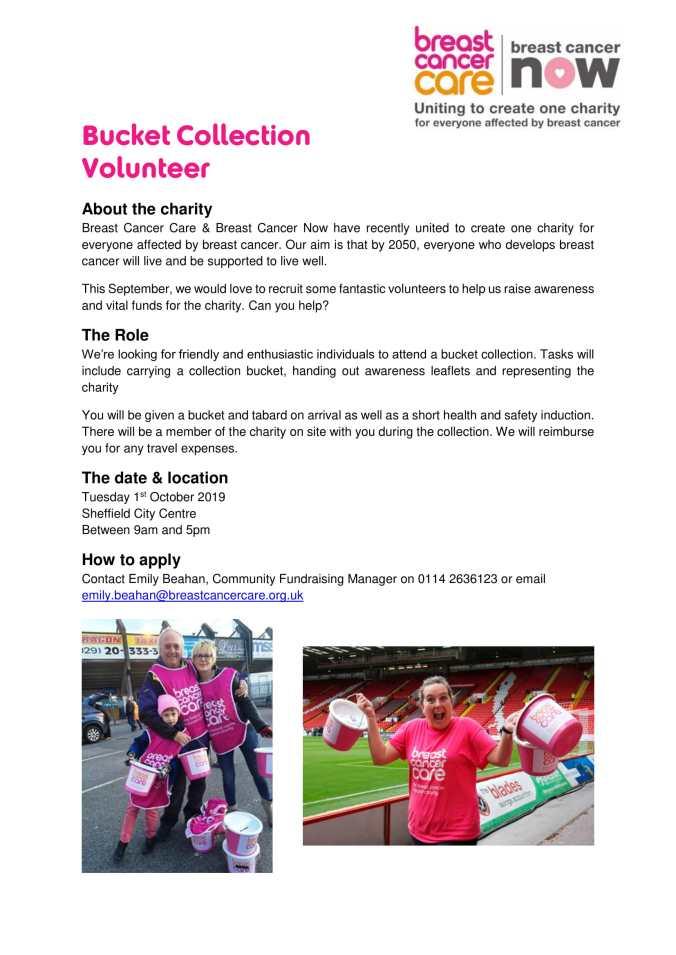 Bucket Collection Volunteer 011019-1